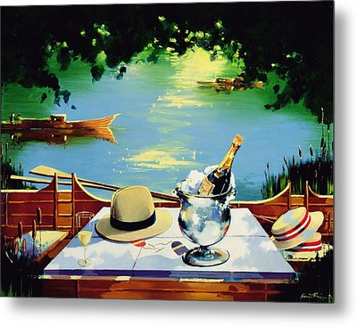 Still Life Regatta Metal Print
