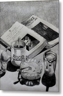 Still Life With Lawrence Metal Print