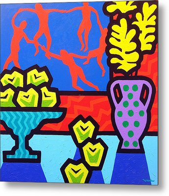 Still Life With Matisse Metal Print by John  Nolan