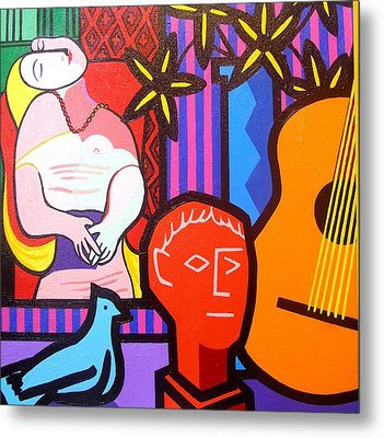 Still Life With Picasso's Dream Metal Print by John  Nolan