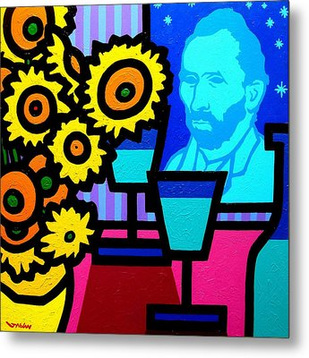 Still Life With Vincent Metal Print by John  Nolan