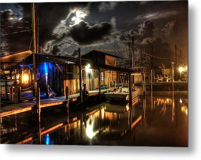 Still Marina Metal Print by Michael Thomas