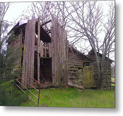 Metal Print featuring the photograph Still Standing by Lew Davis