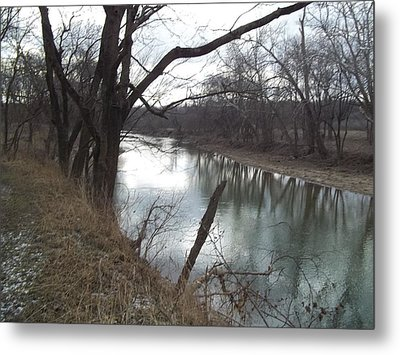 Metal Print featuring the photograph Still Waters by Eric Switzer