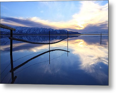 Stillness Metal Print by Darryl Wilkinson