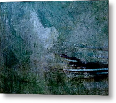 Stillness In The Storm Metal Print