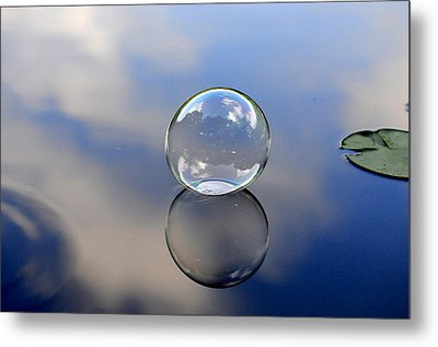 Stillness Of Water Metal Print by Terry Cosgrave