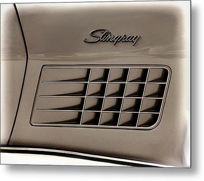 Stingray Detail Metal Print by Douglas Pittman