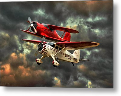 Stinson And Beech Metal Print by Steven Agius