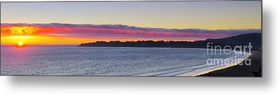 Stinson Beach Sunset Metal Print