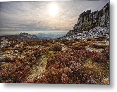 Stiperstones National Nature Reserve Metal Print