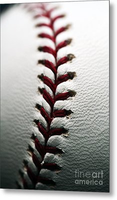 Stitches I Metal Print by John Rizzuto
