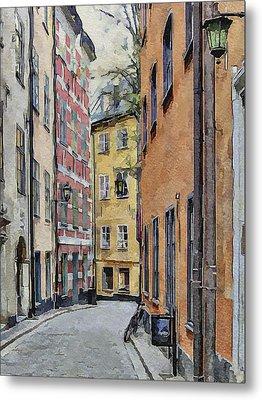 Stockholm 15 Metal Print by Yury Malkov