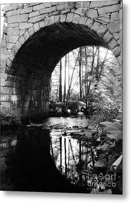 Stone Arch Bridge 2 Metal Print by Barbara Bardzik