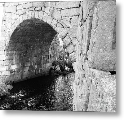 Stone Arch Bridge 3 Metal Print by Barbara Bardzik
