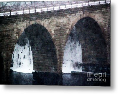 Stone Arch Bridge Metal Print