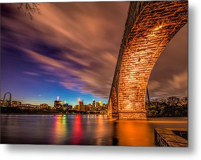 Stone Arch Minneapolis Metal Print by Mark Goodman