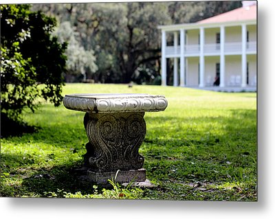 Stone Bench Metal Print by William Tucker