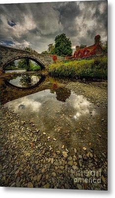 Stone Bridge Metal Print by Adrian Evans