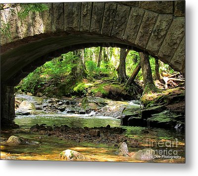 Stone Bridge II Metal Print by Elizabeth Dow