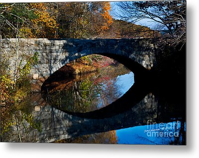 Stone Bridge Metal Print by Jim  Calarese