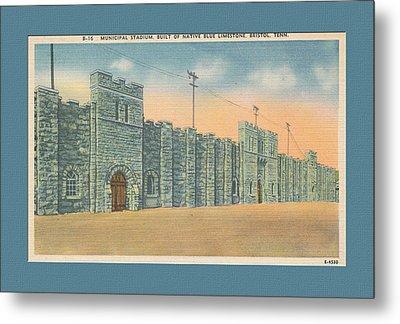 Stone Castle Bristol Tn Built By Wpa Metal Print