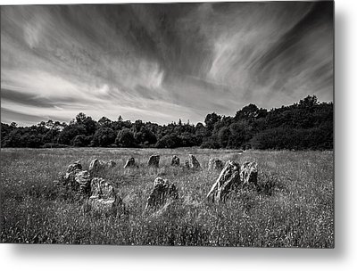 Stone Circle Ireland Metal Print by Pierre Leclerc Photography