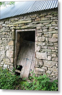 Stone Cottage Metal Print by Kandy Hurley