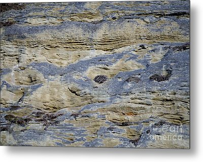 Metal Print featuring the photograph Stone Detail by Felicia Tica