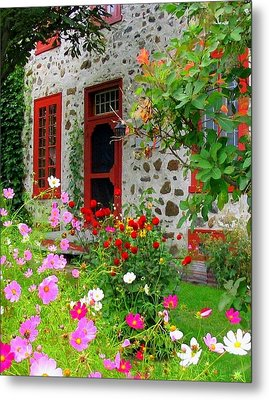 Stone House In The Country Metal Print by Rick Todaro
