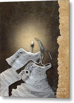 Stone Men 29 - Love Rythm Metal Print by Variance Collections