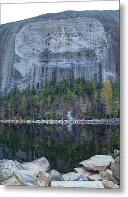 Stone Mountain - 2 Metal Print by Charles Hite