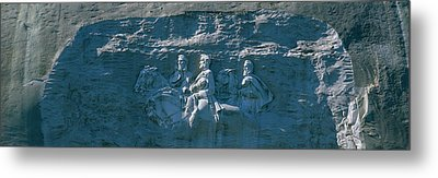 Stone Mountain Confederate Memorial Metal Print