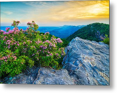 stone mountain KY Metal Print by Anthony Heflin