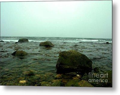 Stone Ocean Metal Print