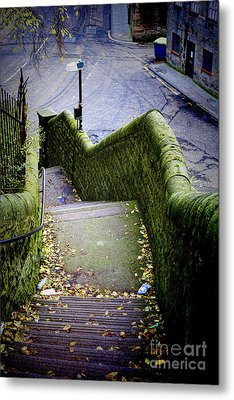 Metal Print featuring the photograph Stone Staircase by Craig B