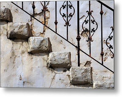 Stone Stairs Metal Print by Dan Holm