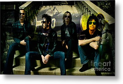 Stone Temple Pilots Metal Print by Marvin Blaine