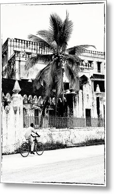 Tanzania Stone Town Unguja Historic Architecture - Africa Snap Shots Photo Art Metal Print by Amyn Nasser