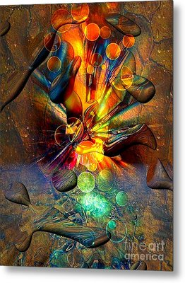 Stone World By Nico Bielow Metal Print by Nico Bielow