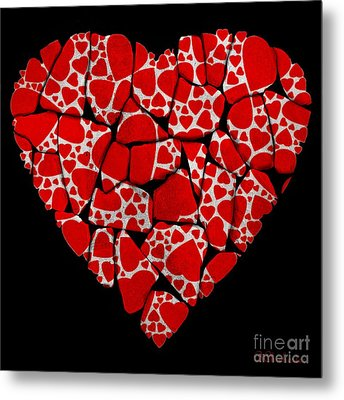 Stoned In Love Metal Print by Barbara Chichester