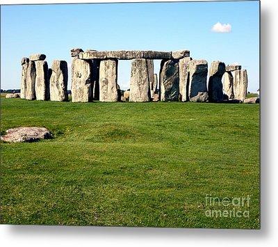 Stonehenge Metal Print by John Potts