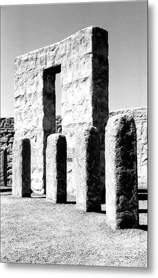 Metal Print featuring the photograph Stonehenge Replica by Chalet Roome-Rigdon