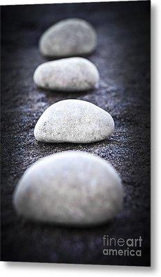 Stones Metal Print by Elena Elisseeva