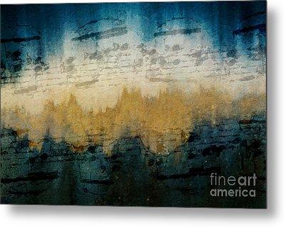 Stonewashed Blue Metal Print