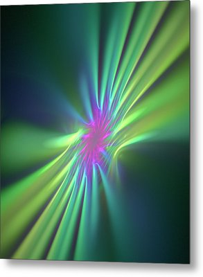 Stong Nuclear Force Conceptual Artwork Metal Print by David Parker
