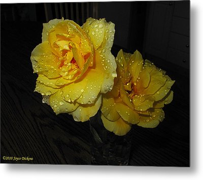 Stop And Smell The Roses Metal Print by Joyce Dickens