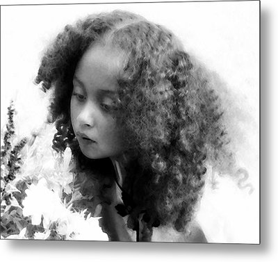 Stop To Smell The Roses Metal Print by Jodie Marie Anne Richardson Traugott          aka jm-ART