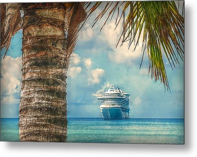 Stopover In Paradise Metal Print by Hanny Heim
