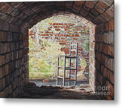 Stopped In Time Metal Print by Lynette Cook